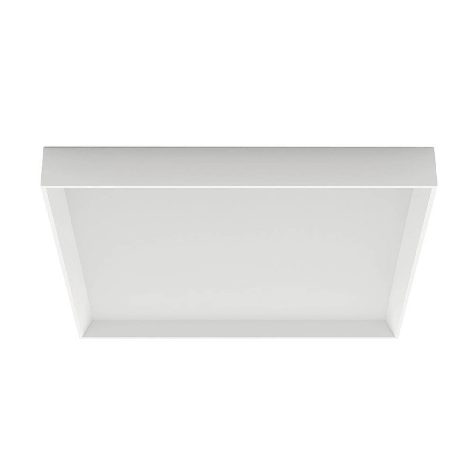 Lampa sufitowa LED Tara Q, kątowa, 50 x 50 cm