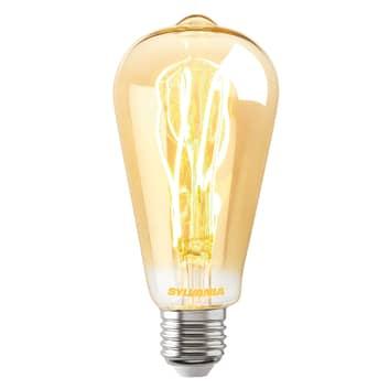 LED-Lampe E27 ToLEDo Vintage ST64 dim 5,5W gold