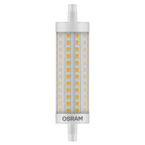 Tube LED R7s 15W, blanc chaud, 2000lm