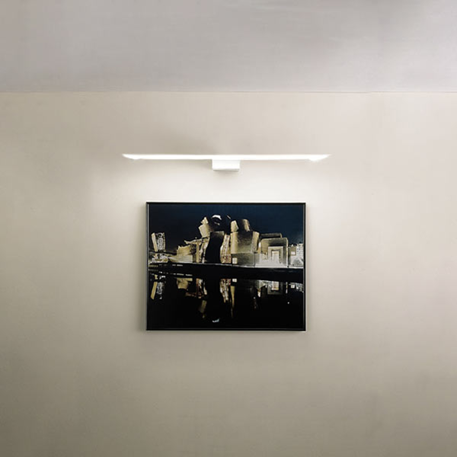 Bildelampe Eliana W Picture til vegg hvit