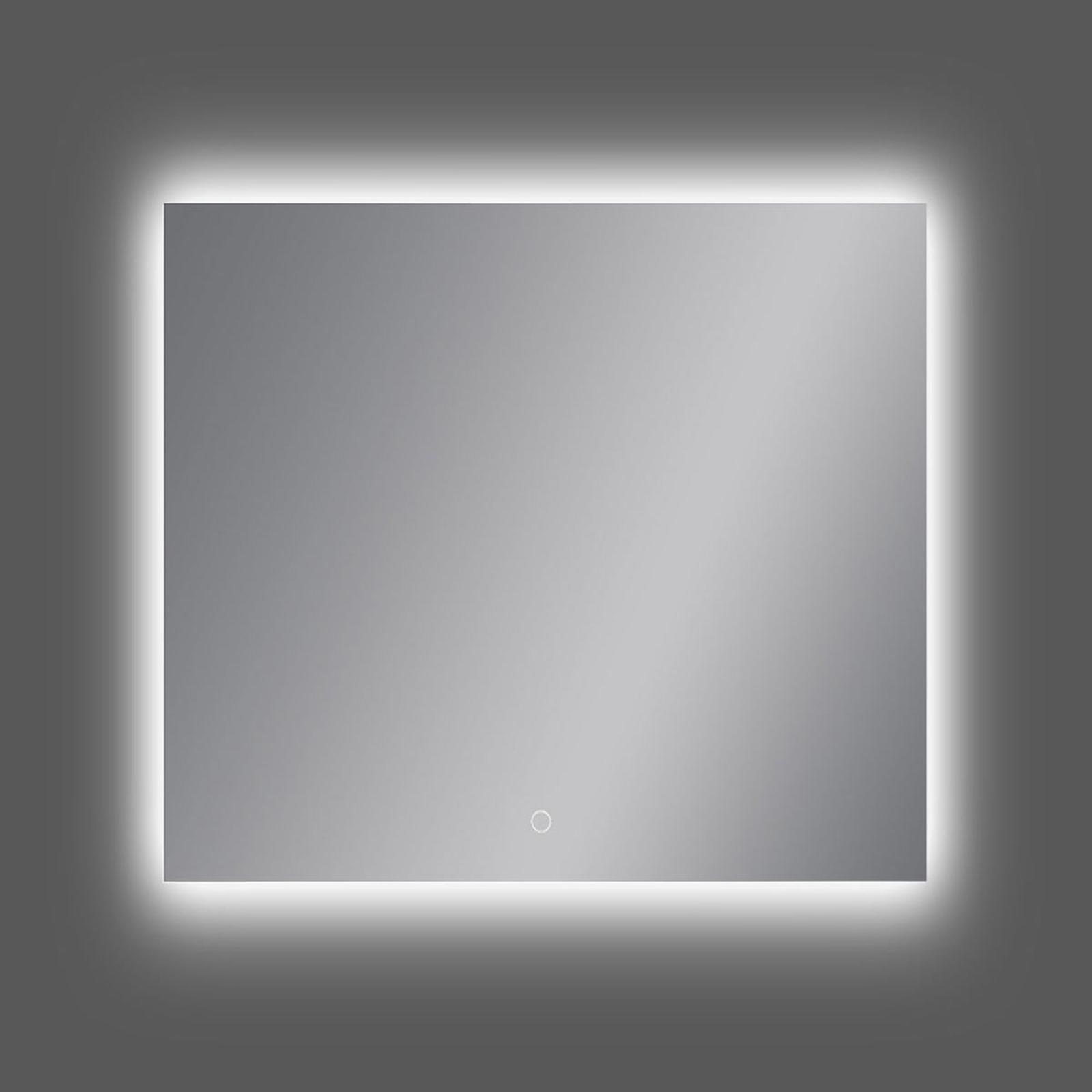 Miroir mural LED Estela, 75x80cm, 3000K