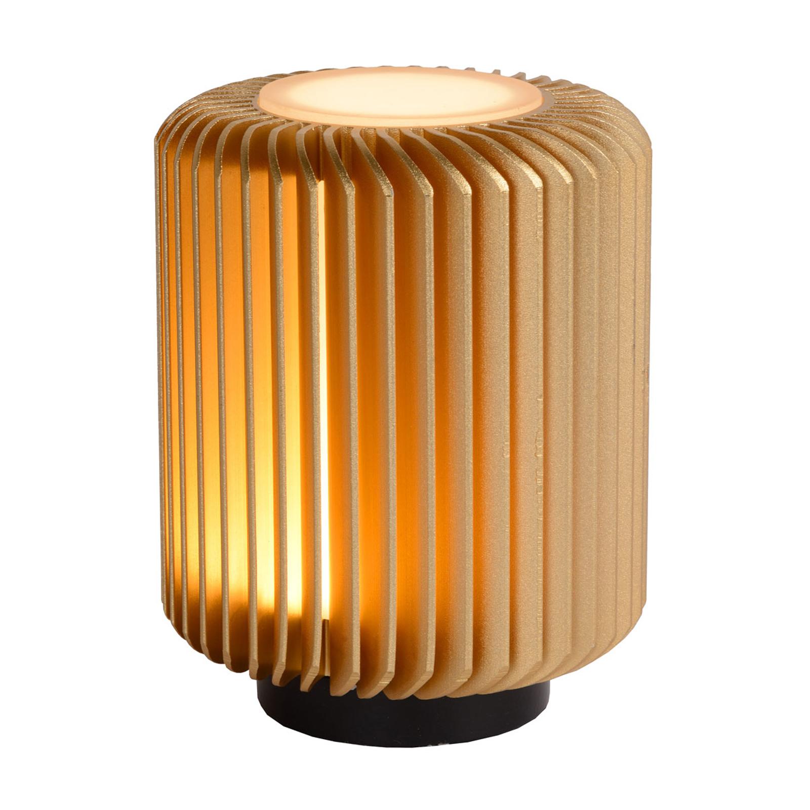 LED tafellamp Turbin, goud