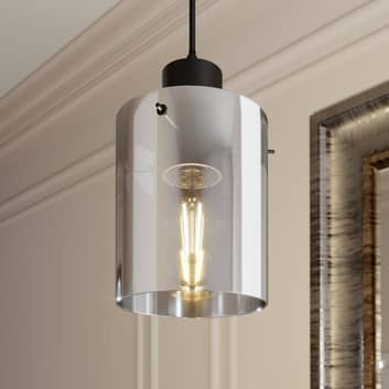 Lindby Kourtney hængelampe, glasskærm, 1 lyskilde