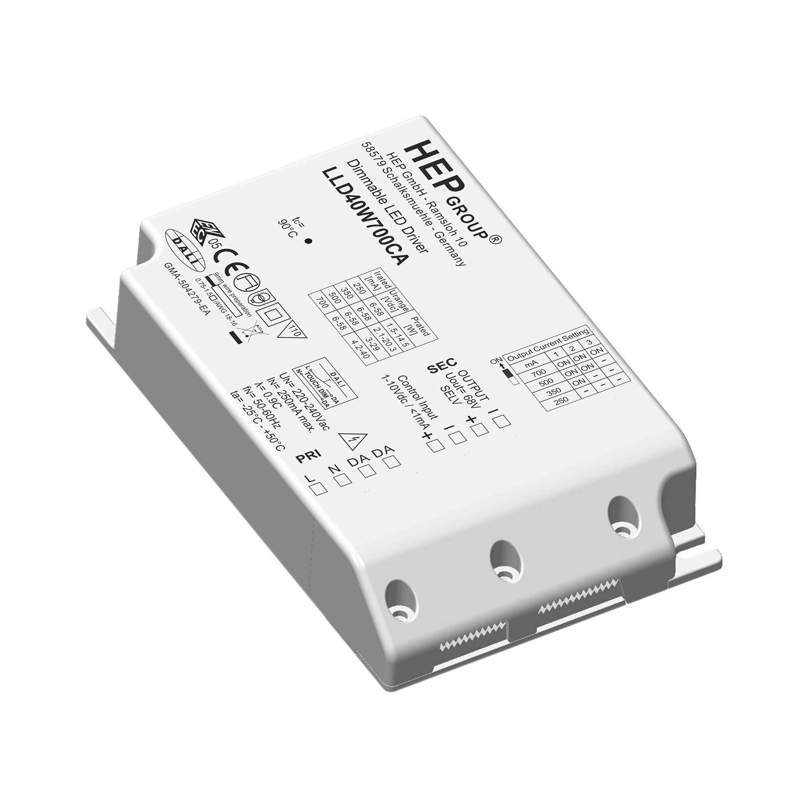 Driver LED LLD, 40 W, 700 mA, dimming, CC