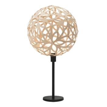 david trubridge Floral lampa stołowa naturalna