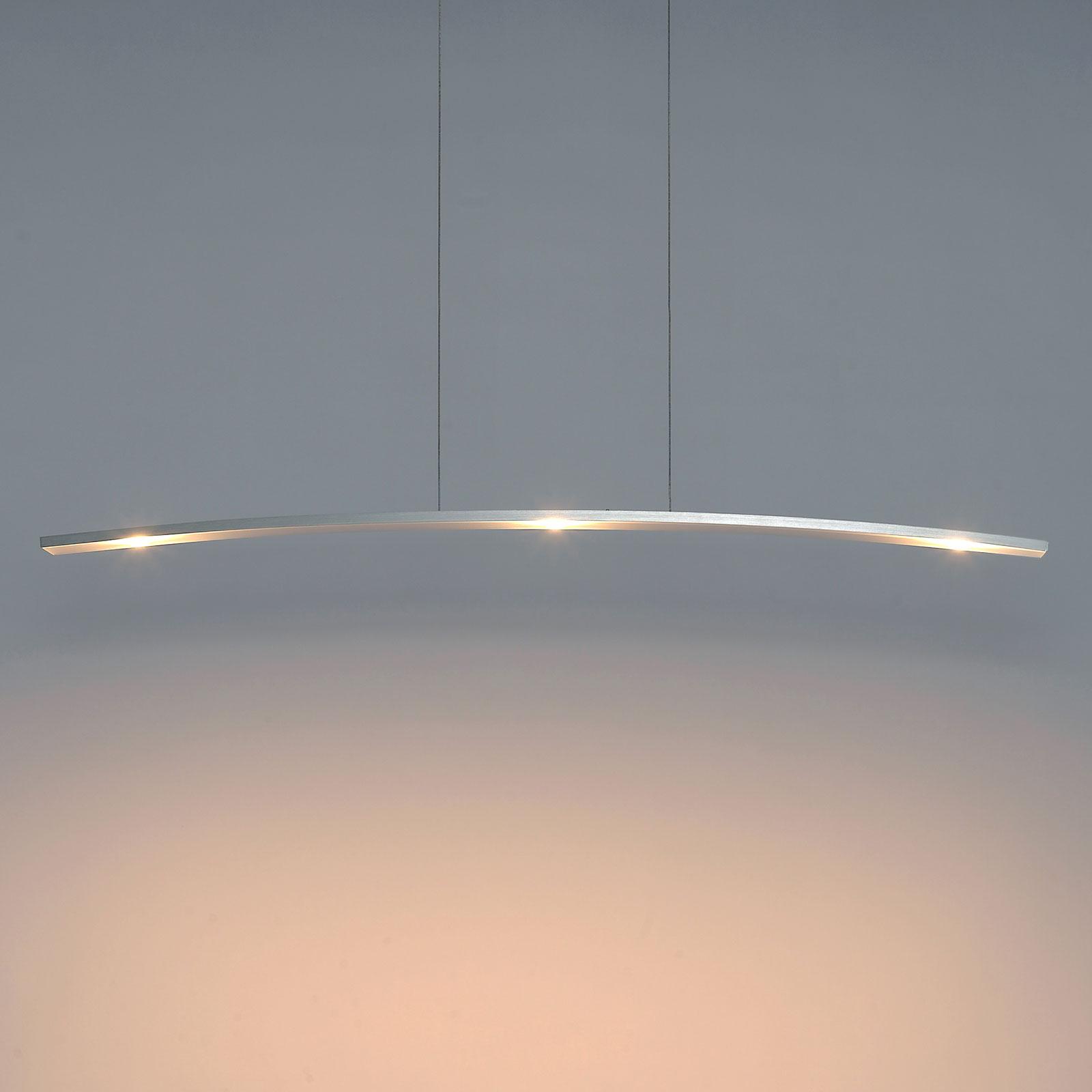 Bopp Change - moderne LED-Pendelleuchte 3-flg.