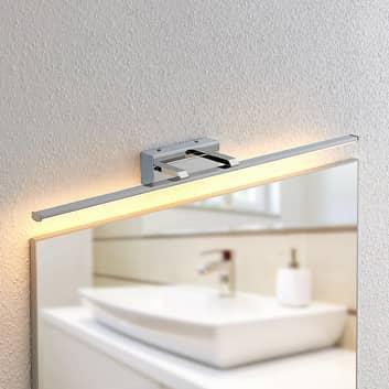 Lindby Eloni applique LED da bagno, cromo