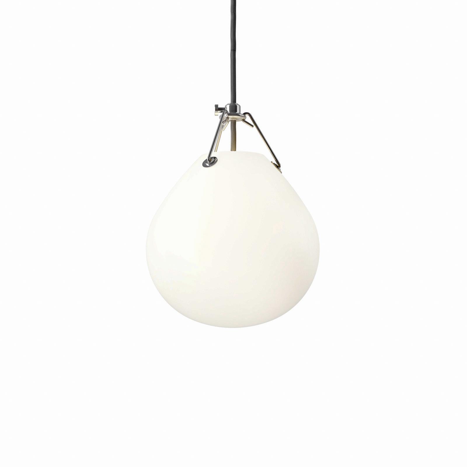 Louis Poulsen Moser glashængelampe, Ø 18,5 cm