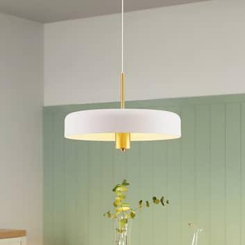 Lucande Filoreta lámpara colgante, 45 cm, blanco