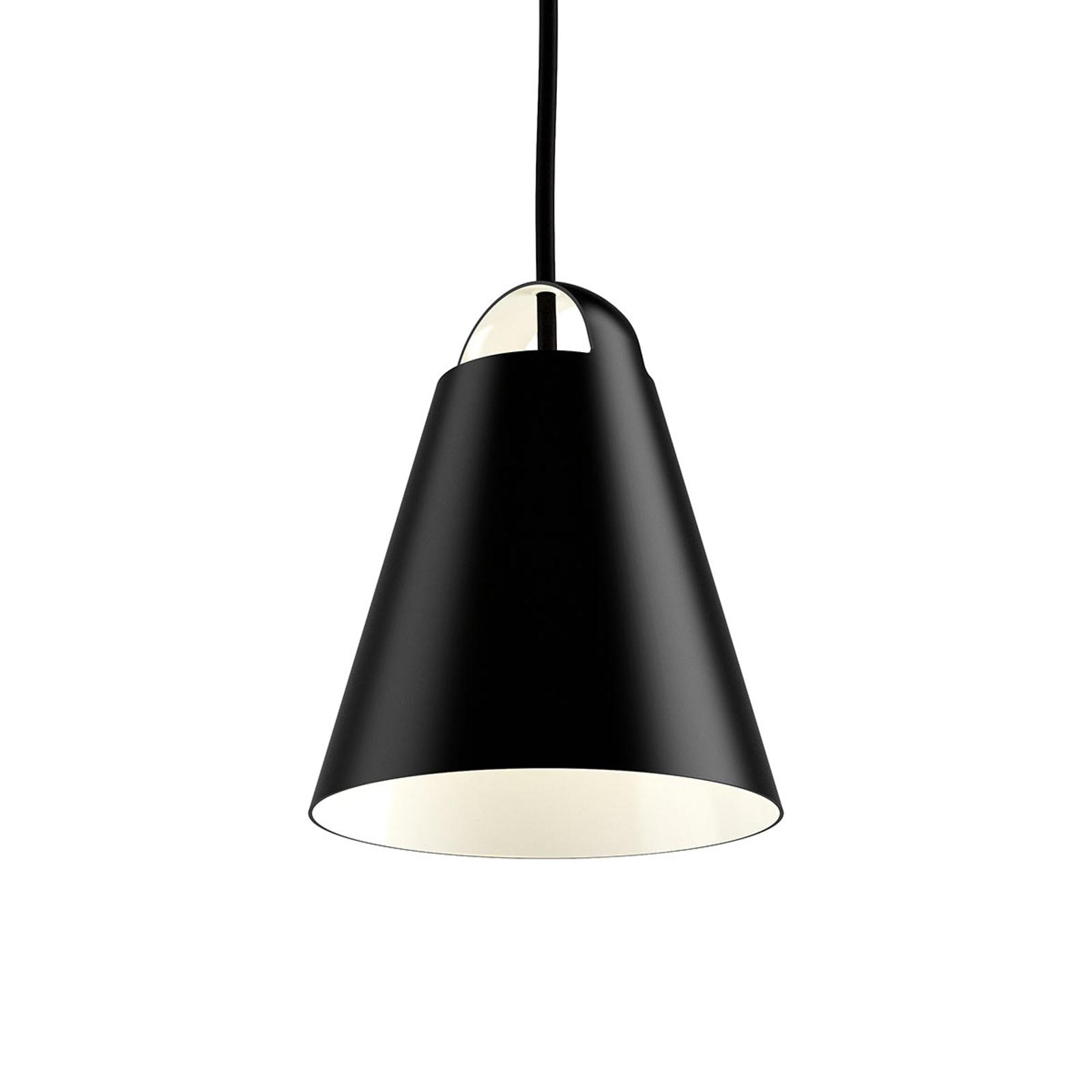 Design hanglamp Above, zwart, 17,5 cm