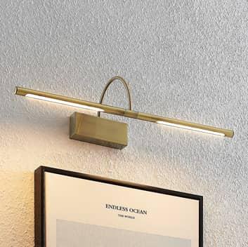 Lucande Fehmke oświetlenie obrazów LED, mosiądz