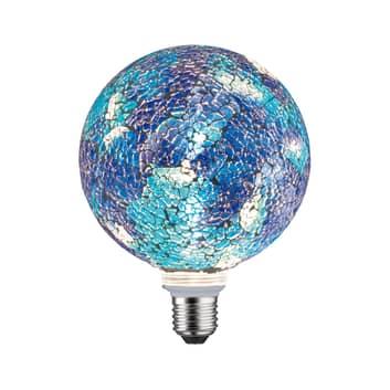 Paulmann E27 LED-Globe 5W Miracle Mosaic blått