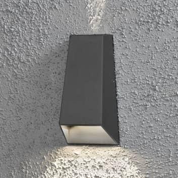 Imola udendørs LED-væglampe, dobbelt lyskegle