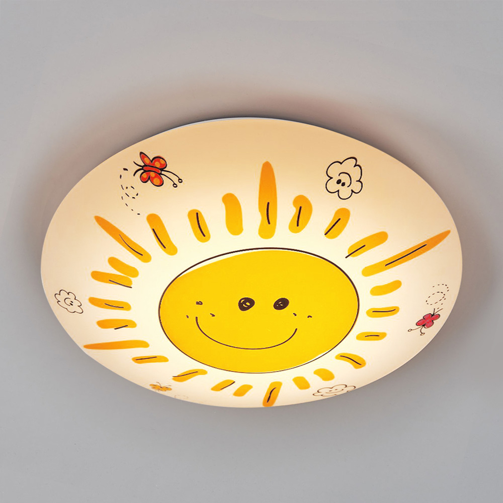 Strålande taklampa Sunny