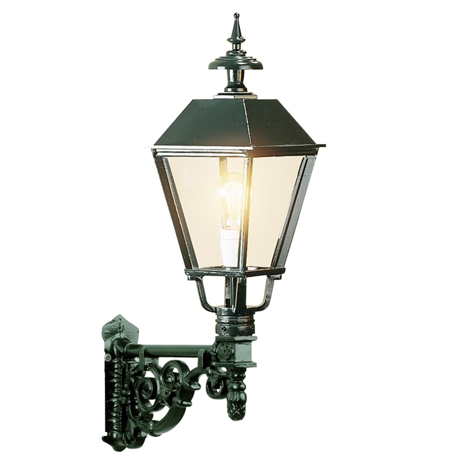 Zewnętrzna lampa ścienna Zandvoort, zielona