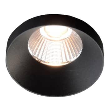 GF design Owi Einbaulampe IP54 schwarz