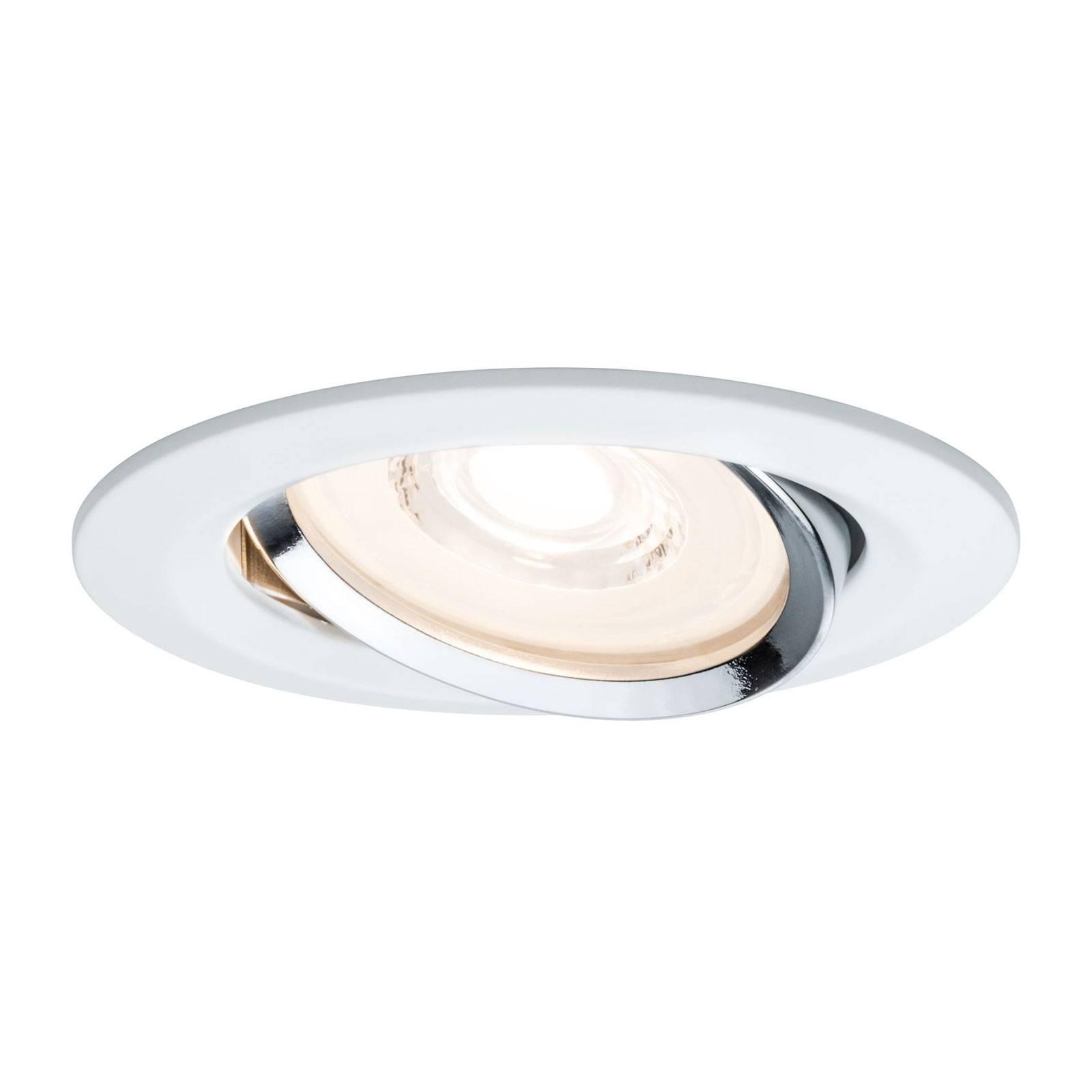 Paulmann Reflector Coin LED inbouwspot, per 3