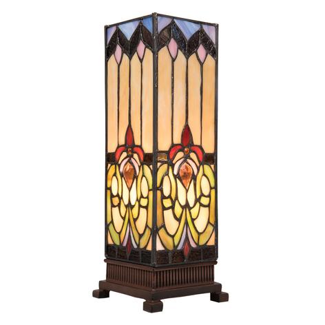 Stolní lampa 5906 rozmanité skleněné stínidlo