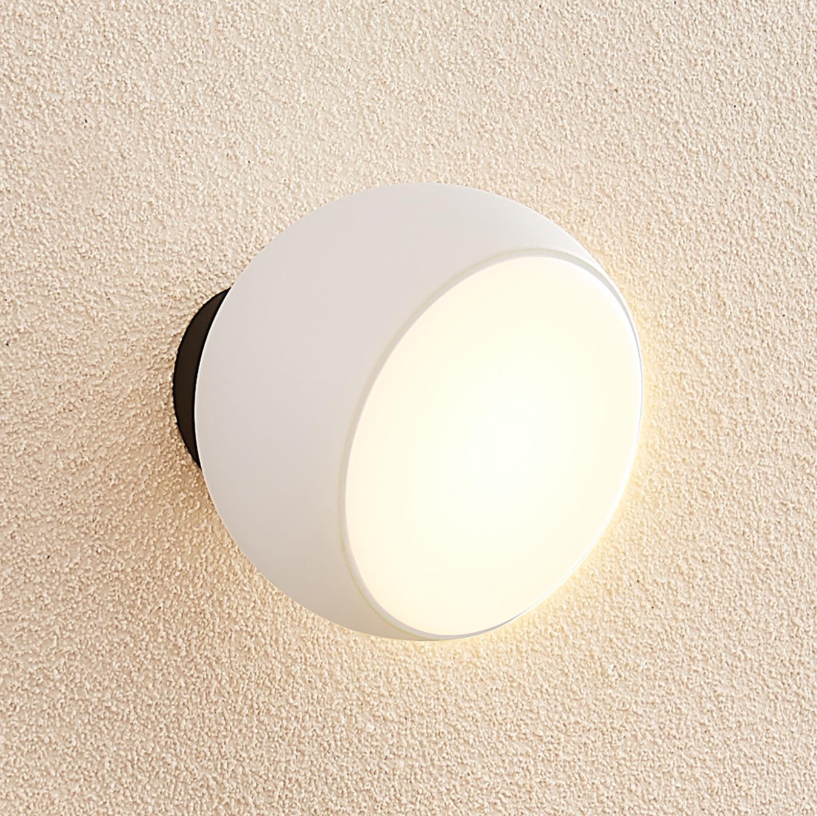 Arcchio Davir LED-vegglampe, bærbar, batteri, hvit