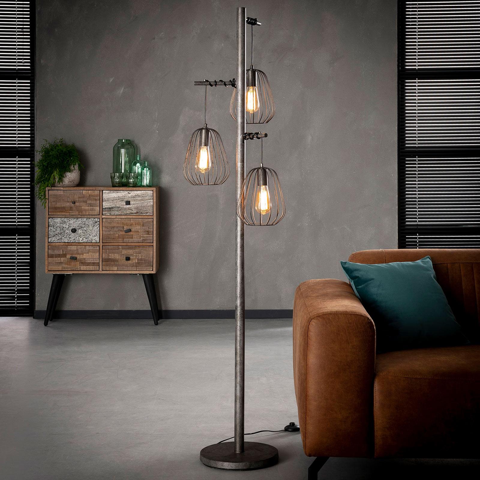 Lampadaire Kooitje à 3 lampes