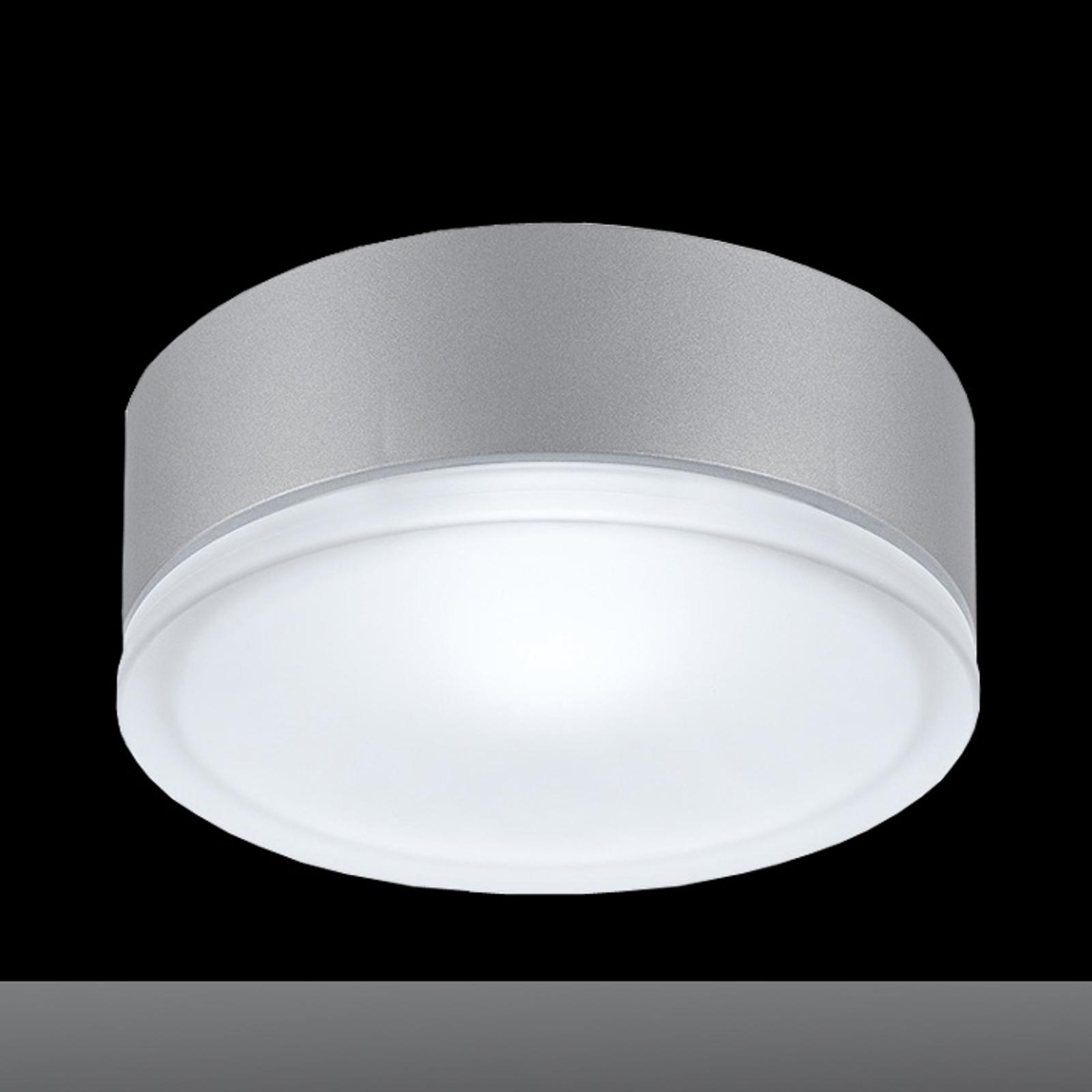 DROP 28 - duża lampa sufitowa, szara