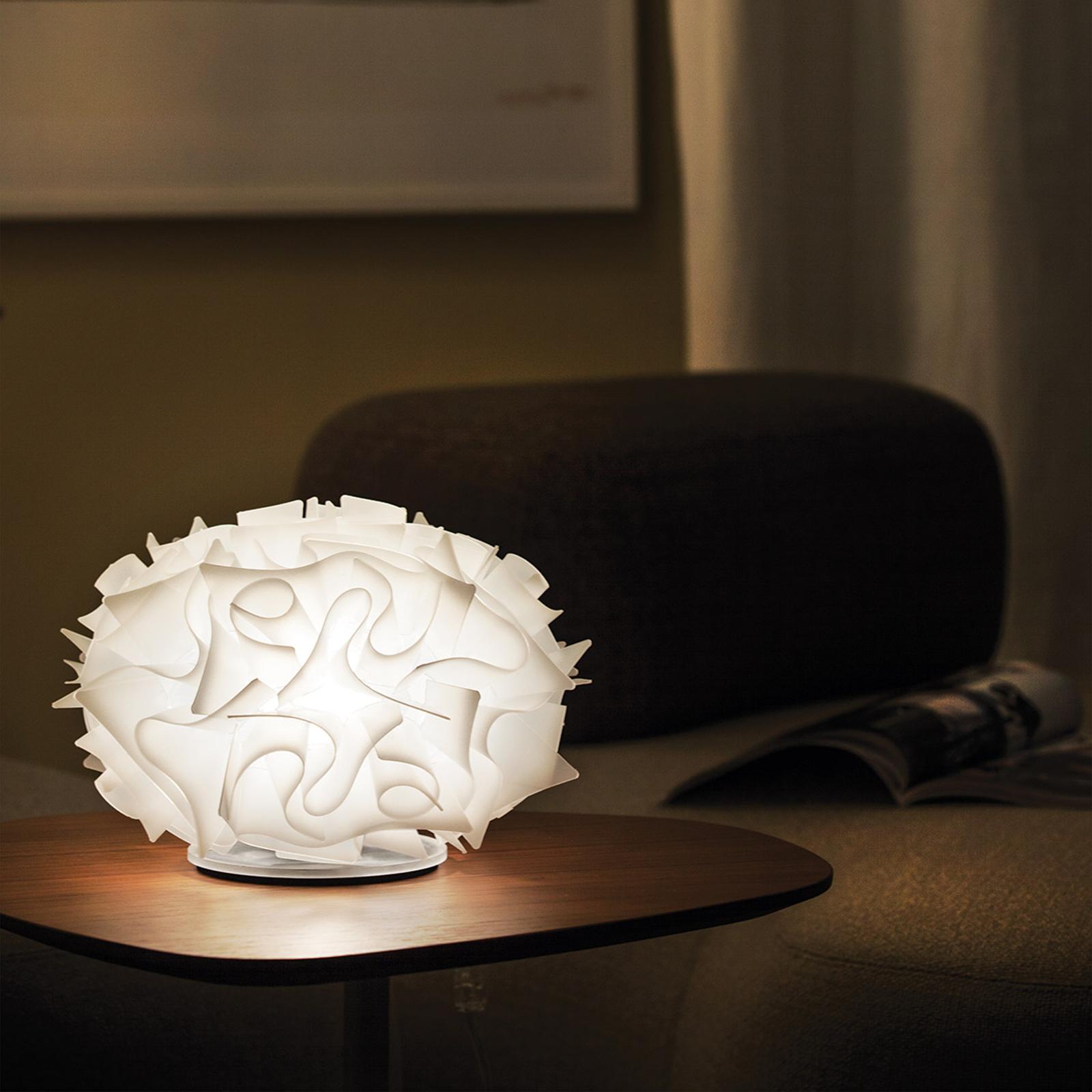 Slamp Veli Design-Tischleuchte Ø 32cm weiß