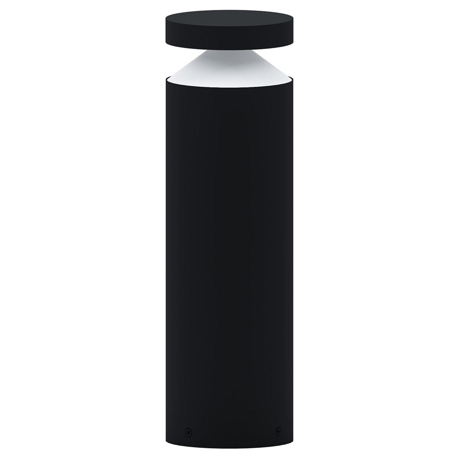 Belle lampe pour socle LED Melzo en noir