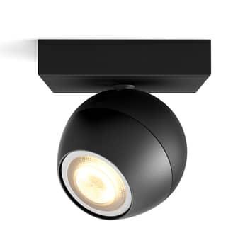 Philips Hue Buckram LED spot černý stmívač