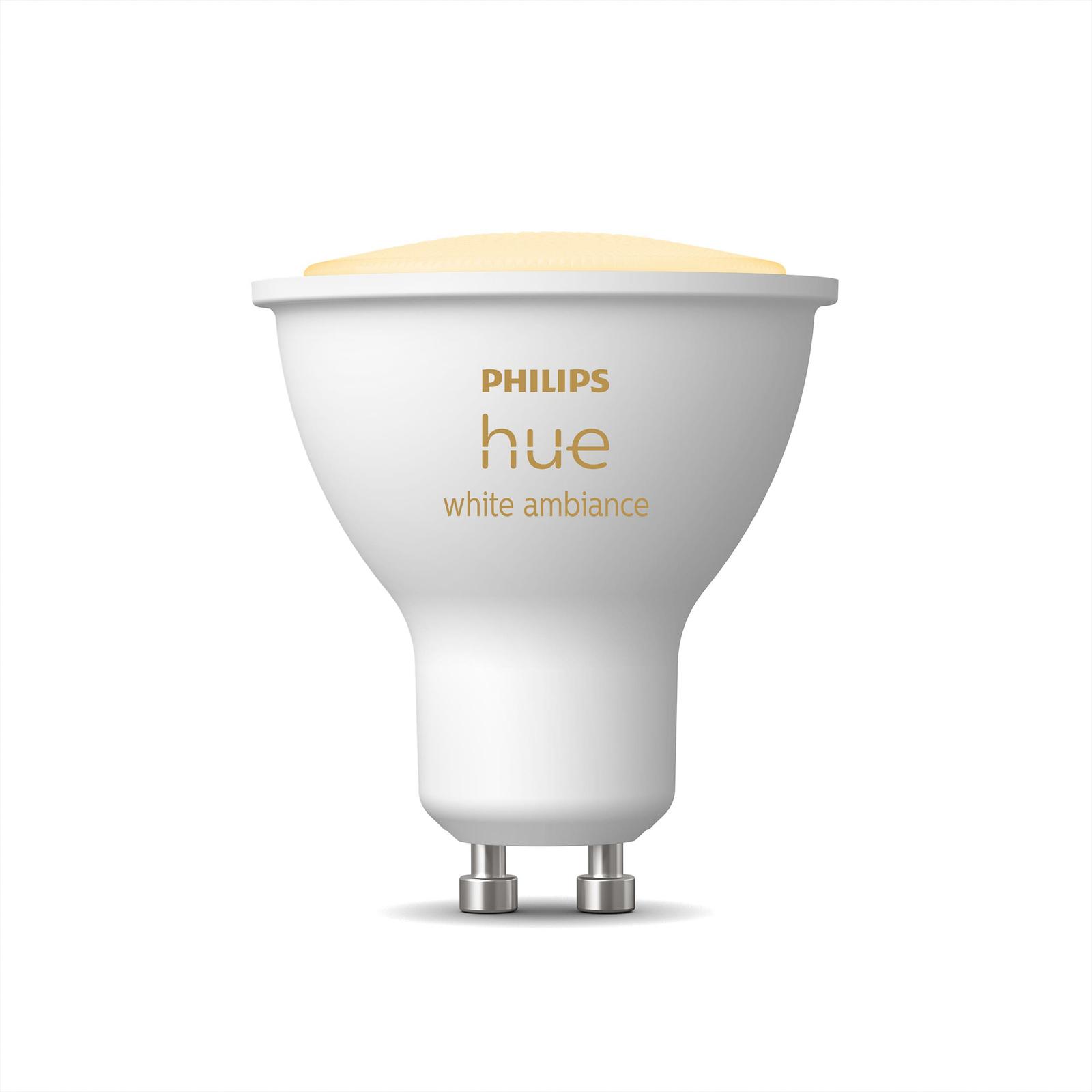Philips Hue White Ambiance 4,3 W GU10 LED-pære