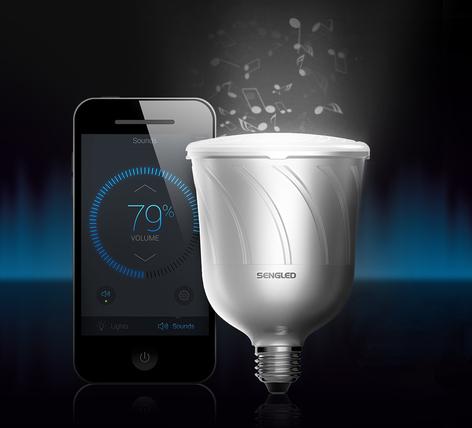 Sengled Pulse LED-Musiklampe 2erSet, E27 8W