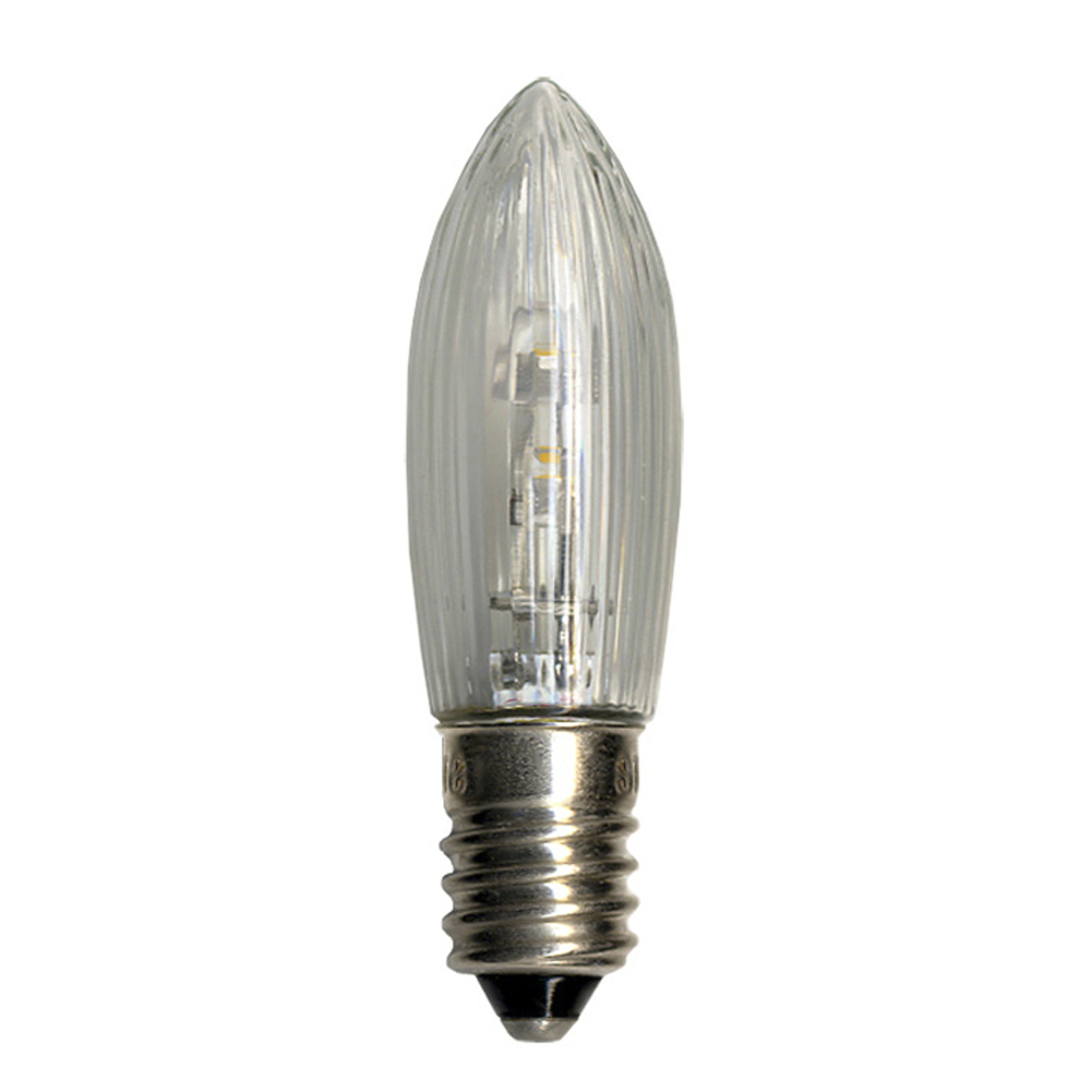 E10 0.1W 10-55V LED bulb pack of 3, candle shape_1522312_1