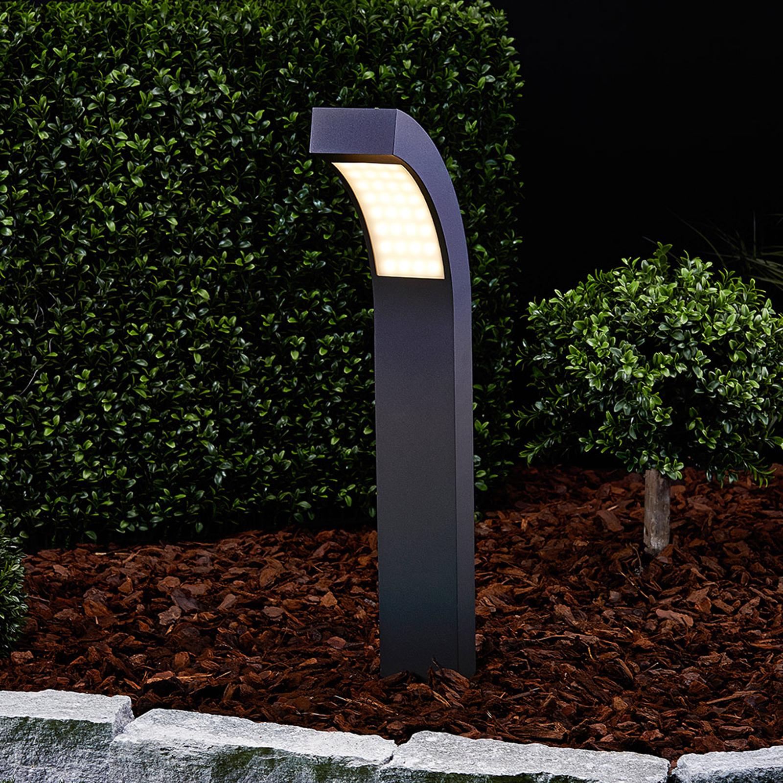 Borne lumineuse LED Lennik, hauteur 60 cm