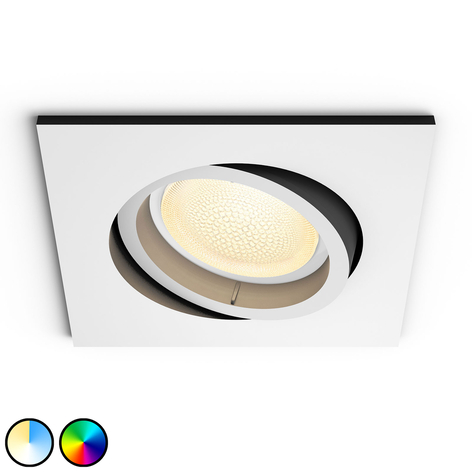 Philips Hue Centura foco empotrado LED, angular