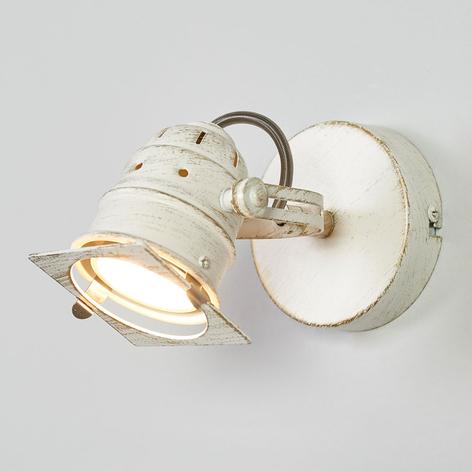 Hvit LED-spotlys Janek med GU10-pære