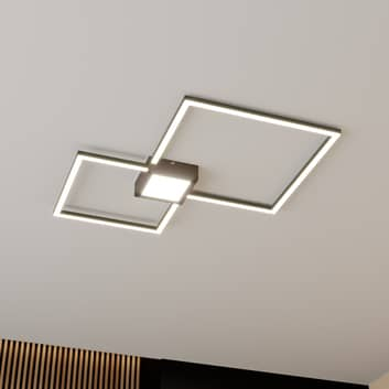 Lindby Duetto lampa sufitowa LED antracyt 28W