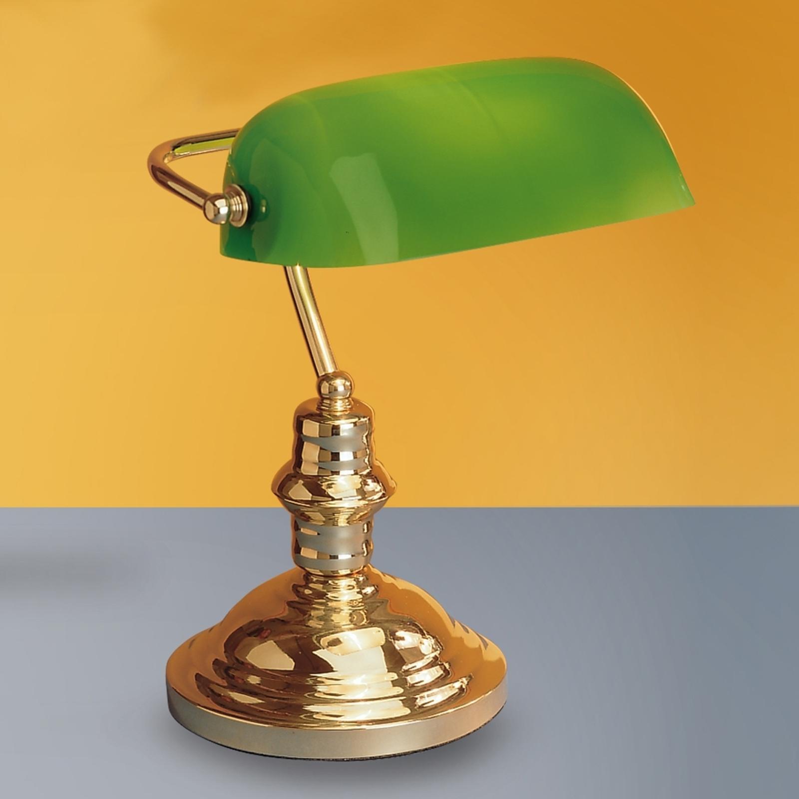 Lampe à poser Onella, vert