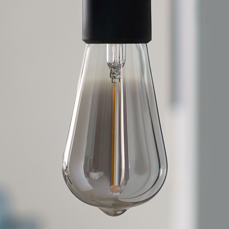 Philips Classic lampadina LED smoky E27 ST64 2,3W