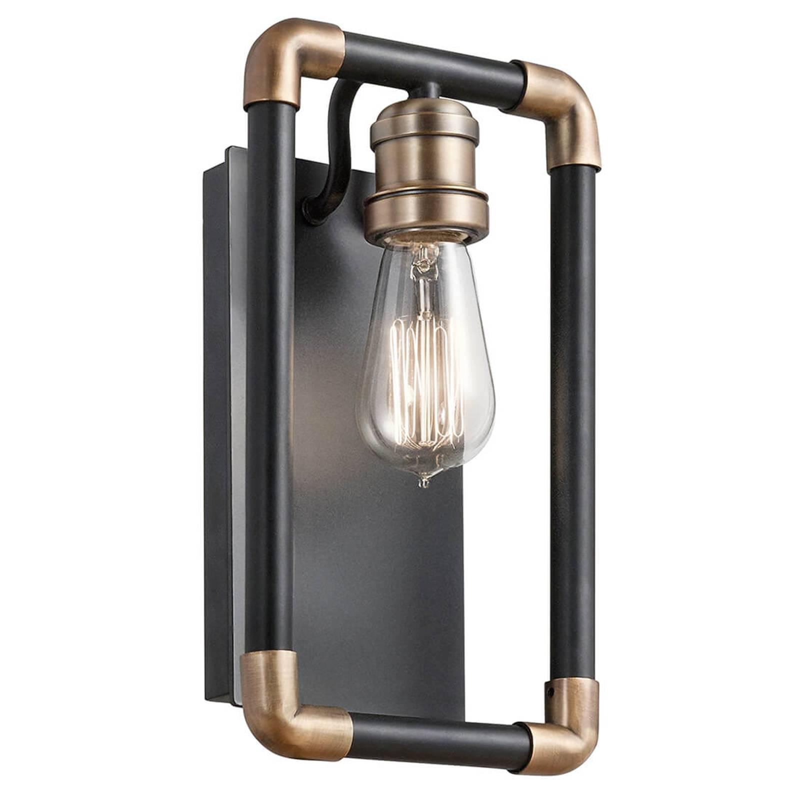 Technisch werkende wandlamp Imahn