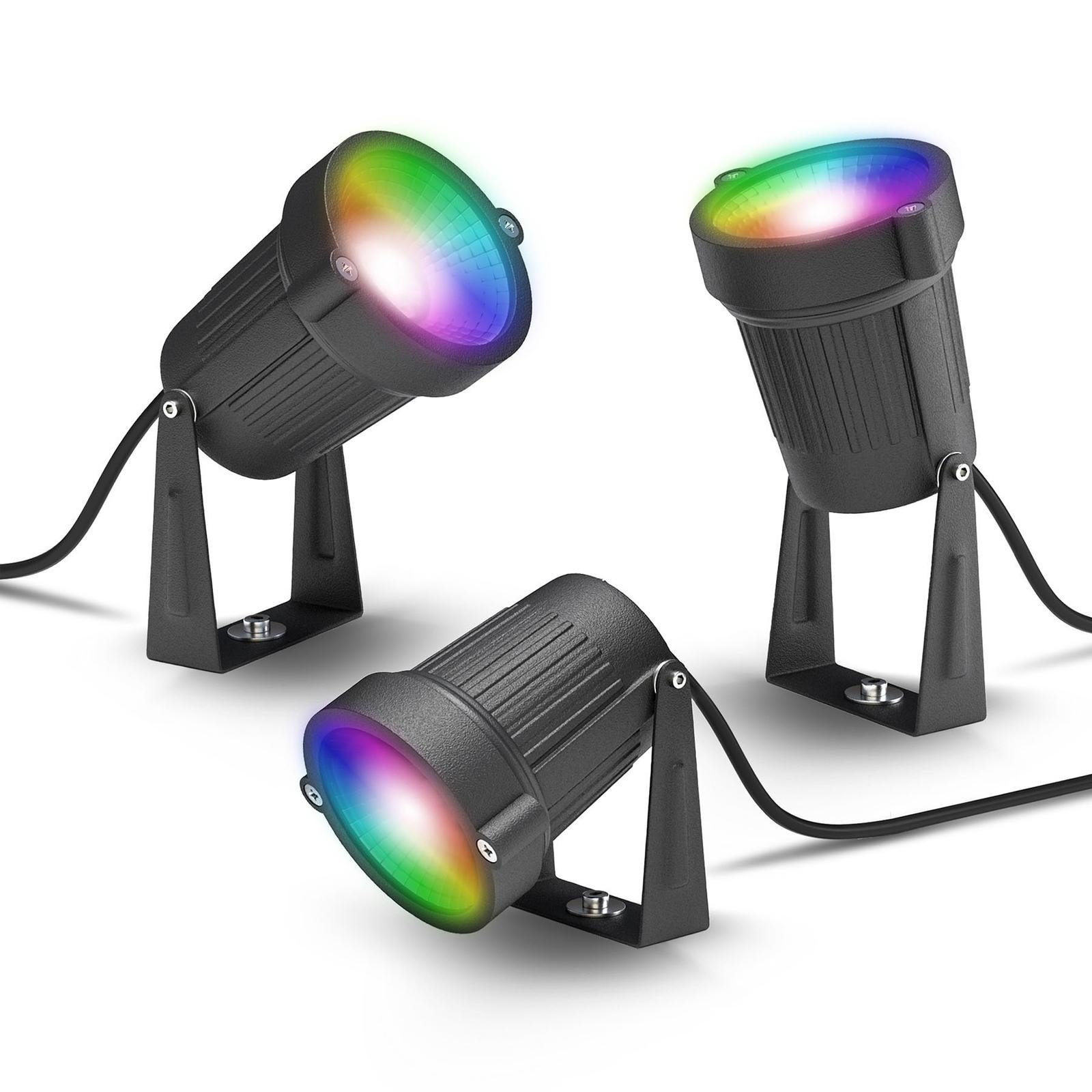 Innr utendørs LED-spot Smart Outdoor, 3er