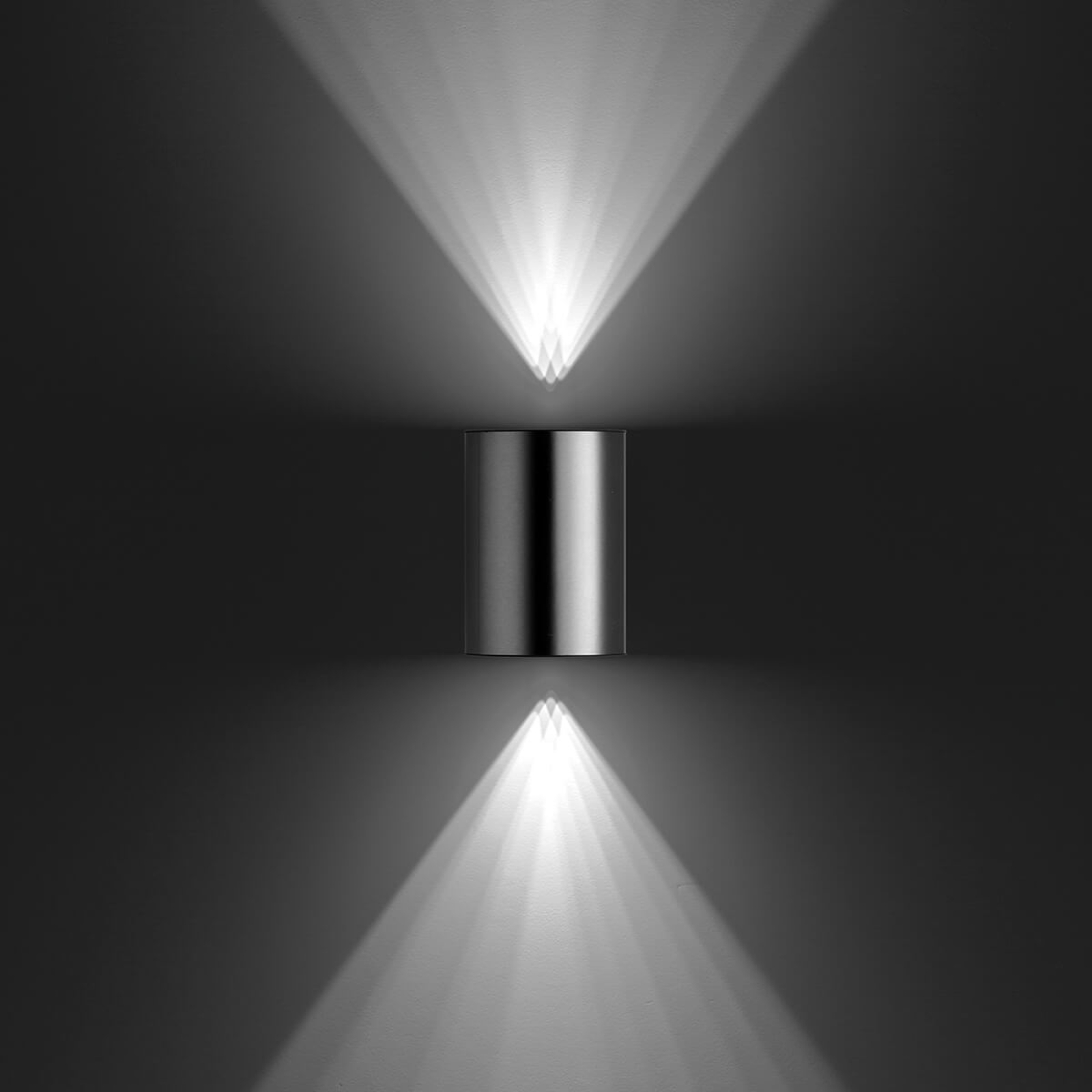 Philips Buxus - LED-Außenwandlampe aus Edelstahl