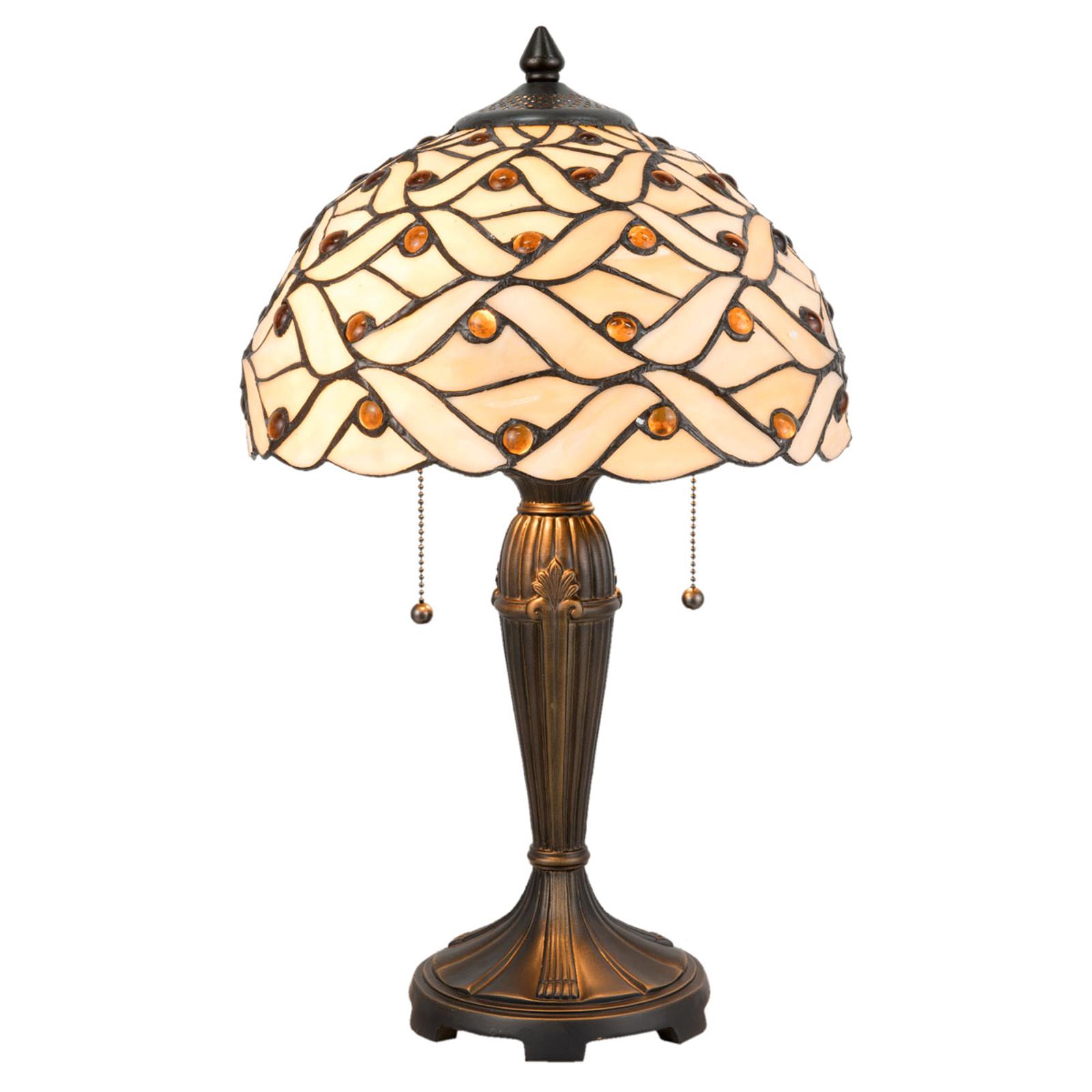 Lampe à poser 5181 au design Tiffany