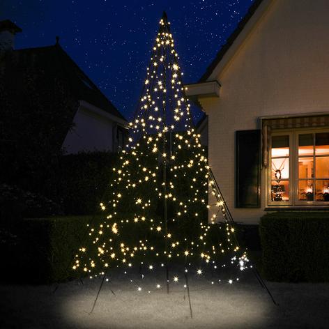 Fairybell® joulukuusi ja masto, 3m, 480LEDiä