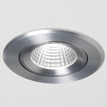 Agon Round LED spot 3000K 40° hliník kartáčovaný