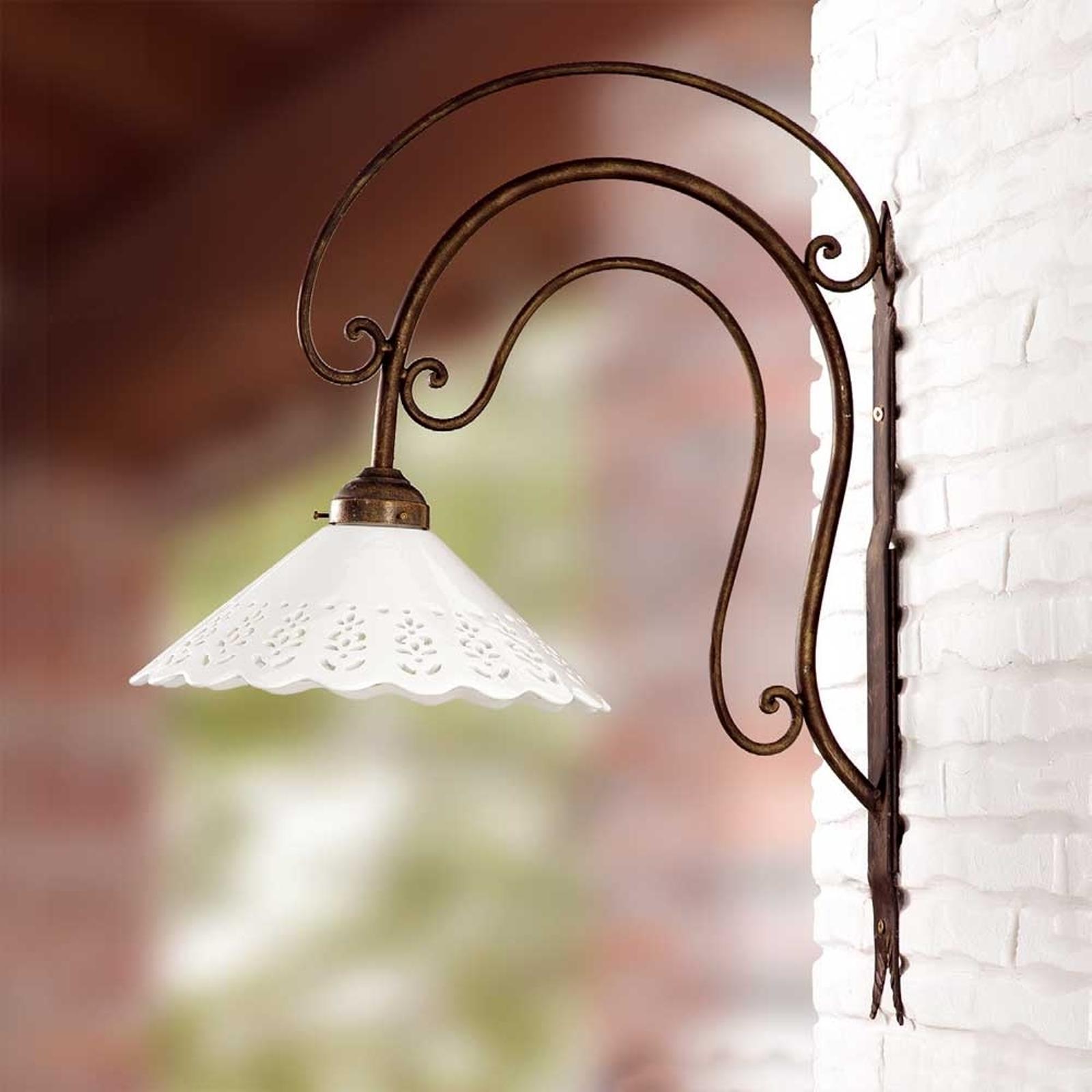 Duża lampa ścienna I PORTICI 30 cm