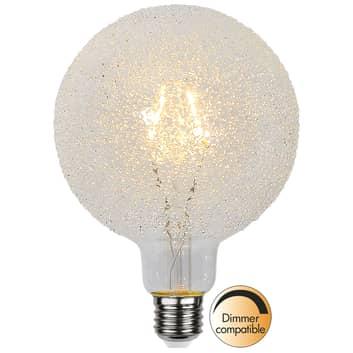 LED-globlampa E27 1W G125 Ice Drop 2 600K dimbar