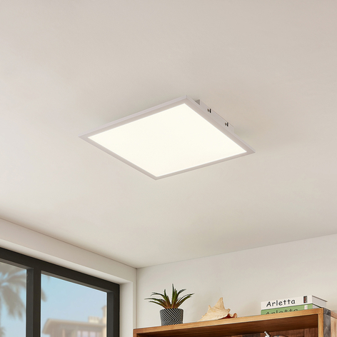 Lindby Quais LED-Panel 4.000K, 40x40 cm