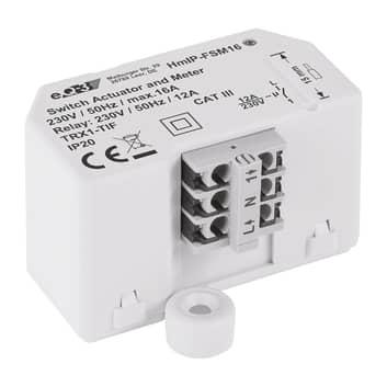 Homematic IP-schakel-meet-actuator inbouw max. 16A