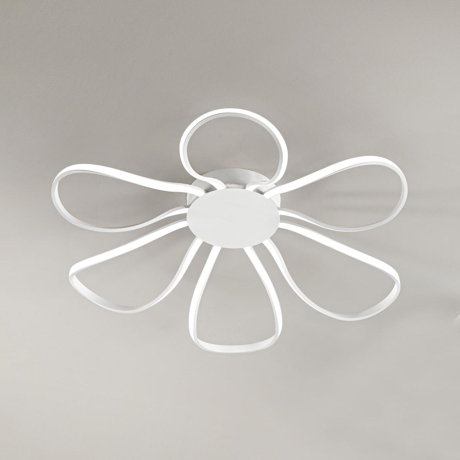 LED plafondlamp Blossom, Ø 81 cm