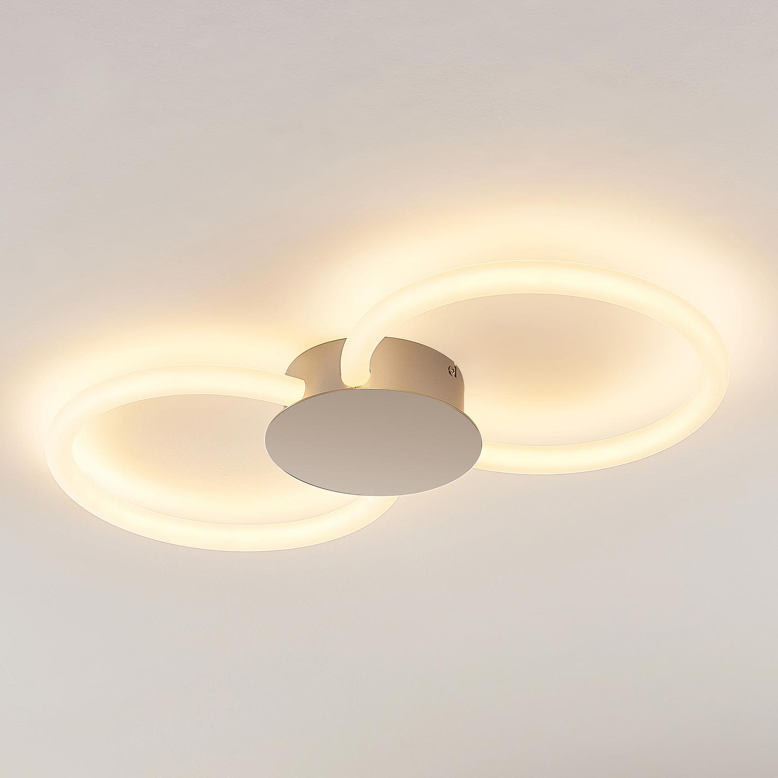 Lucande Clasa lampa sufitowa LED, 2-punktowa