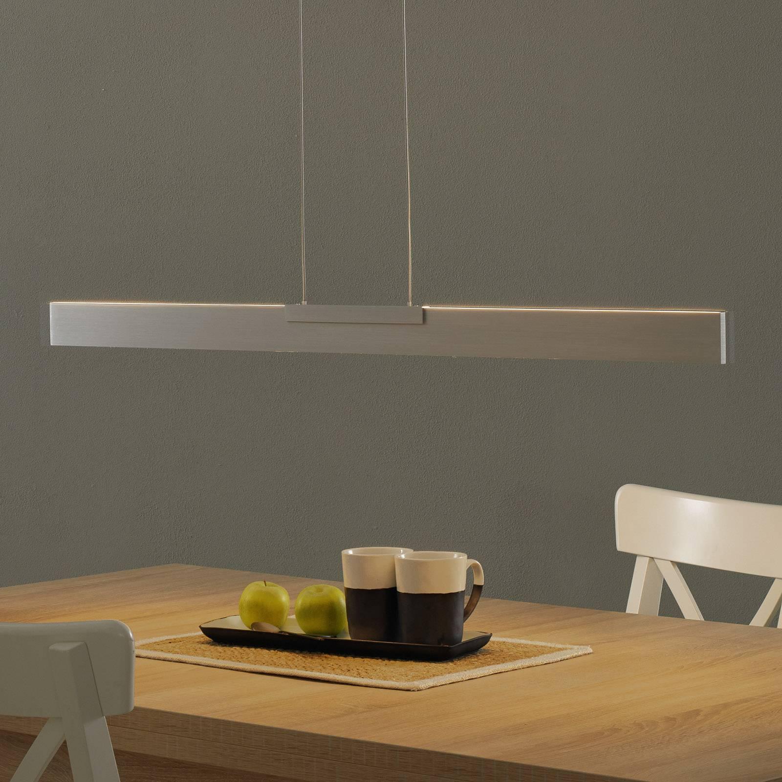Bopp Nano - lampa wisząca LED, aluminium 100cm